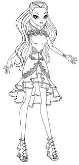Small Picture Beautiful Raven Queen Ever After High Coloring Pages Download