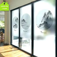 sliding glass door tint adhesive should i tint my sliding glass door