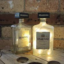 How To Decorate Empty Liquor Bottles Empty liquor bottles for night lights decor Pinterest Empty 42