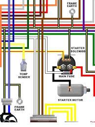 kawasaki zzr e e uk spec colour electrical wiring diagram kawasaki zzr600 e1 e2 uk spec colour wiring diagram