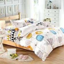 best beautiful flower printed modern style queen twin quilt cover kids bedding set boys modern