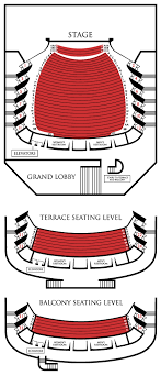 Wells Fargo Center Of The Arts Seating Chart Inb Performing Arts Center Seating Map
