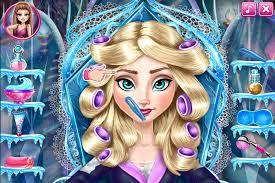 frozen makeup games elsa