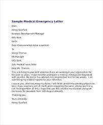 Elegant Medical Leave Letter Three Blocks