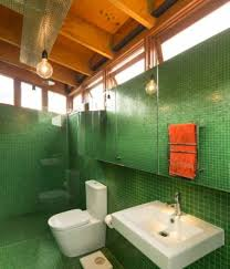 heated bathroom tiles. Bathroom , Good Tiles Colors : Forest Green With White Toilet And Heated