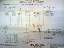 wiring diagrams and schematics appliantology ge range model jbs26ov2wh schematic