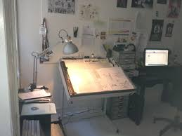 Art drawing office Commercial If You Are Serious About Your Craft Having Workspace Dedicated To Your Art Is Essential Even If Youve Gone Digital You Need Somewhere To Put Your Comics For Beginners How To Choose The Right Drawing Table Comics For Beginners