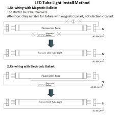 led tube light wiring diagram wordoflife me led tube light wiring diagram Tube Light Diagram jarsant t8 g13 18w 6500k 4ft led tube light40w equivalentdual throughout led light wiring diagram