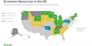 Tennessee Sales Tax Chart 2018 Sales Tax By State Economic Nexus Laws