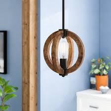 rustic pendant lighting. Orly 1-Light Foyer Pendant Rustic Lighting