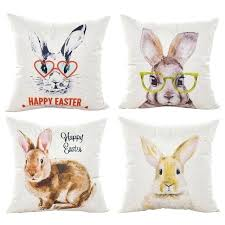 car seats car seat pillow pet cartoon rabbit cushion cover home decorative bunny pillowcase festival