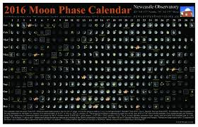 Full Moon Chart 2016 2016 Moon Phase Calendar Aavso Org