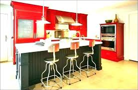 red and yellow kitchen decorating ideas themes wall decor interior
