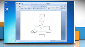 Flow Chart Youtube How To Make A Flow Chart In Microsoft Word 2007