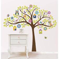 tree peel and stick wall art