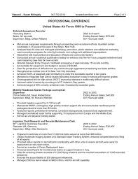 40 Flawless Resume For Federal Jobs Nadine Resume
