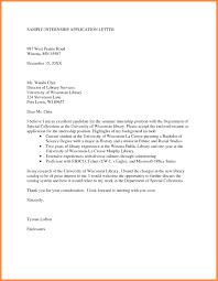 Letter Format For Internship Application Internship Application Sample Letter Bushveld Lab