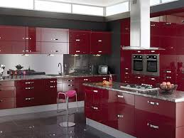 modular kitchen colors: fair modular kitchen fabulous modular kitchen with parellel shape purple color kitchen cabinets rectangle shape purple color kitchen island gray color granite countertops built in ovens standing stoves cooker hood undermo