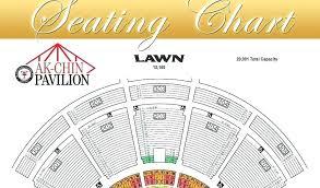 ak chin seating map pavilion chart view design template
