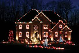 White Or Colored Christmas Lights On House Roofline Christmas Lights Cigit Karikaturize Com