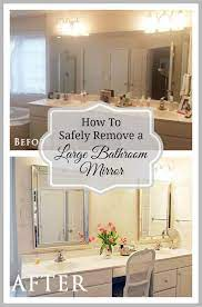 large bathroom builder mirror from