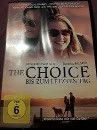 The Choice - Bis zum letzten Tag (2016, DVD video) online kaufen