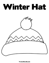 Small Picture Winter Scarf Coloring Pages Coloring Home