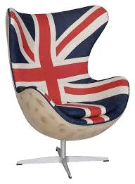 the re imagined union jack egg chair via andrew martin game on union jack furniture