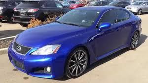 Pre Owned Ultrasonic Blue 2008 Lexus IS F Series 1 Walk Around ...