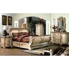 Sleigh Bed Bedroom Sets Cannes Bedroom Set Gondola Sleigh Bed Whitewash Dcg Stores