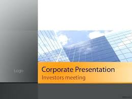 Company Presentation Template Ppt Powerpoint Template Business Presentation Velorunfestival Com