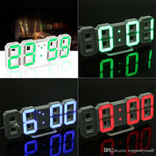 2018 original modern wall clock digital led table clock watches 24 or 12 hour display clock led night light from topprettymall 12 77 dhgate com