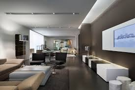 lighting for dark rooms. Magnificent Recessed Lights Look New York Contemporary Living Room Innovative Designs With Area Rug Black And White Ceiling Lighting Dark For Rooms