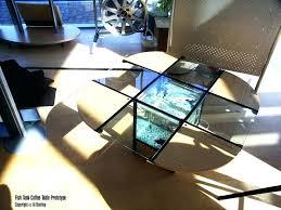 fish tank coffee table for diy