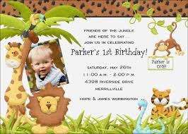 First Birthday Invitations Free Printable Safari First Birthday Invitations Free Printable Birthday