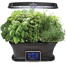 miracle gro aerogarden bounty with gourmet herb seed pod kit