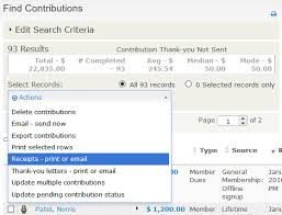 Manual Receipts And Thank-You Letters - Civicrm User Guide - Civicrm ...