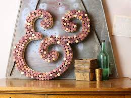 wine cork letter use recycled wine corks to create this gorgeous cork letter