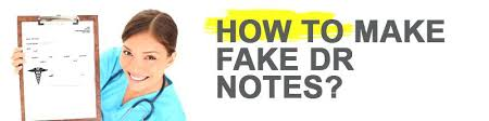 Fake Dr Note How To Get A Dr Note For Work Sample Doctors Companion Animal