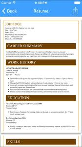 Resume Maker App Best Of Free Resume Builder App Professional Cv