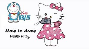 How To Draw Hello Kitty Step By Step Very Easy