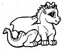 Small Picture Baby Dragon Coloring Pages Barriee