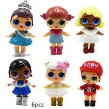gift novelties promo codes new lql dolls 9cm pvc toys 6pcs lot unng doll action