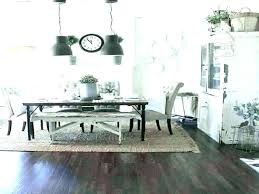 what size rug for dining room round table on i love when the light shines through