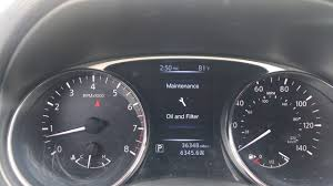 Tire Maintenance Light Nissan 2016 Nissan Rouge Oil And Tire Maintenance Reset Procedure
