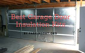 best garage door insulation kits