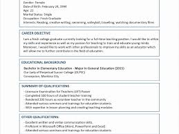 Sample Resume Format For Mba Marketing Fresher Save Mba Marketing