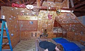 Small Picture A nice garage gym with a climbing wall Check out this article
