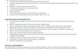 Lpn Resume Sample Fascinating New Lpn Resume New Resume Sample Of Resume Download By Sample Resume