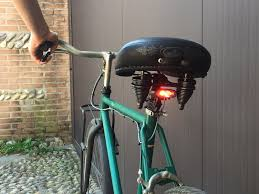 picture of diy brake light for your bicycle